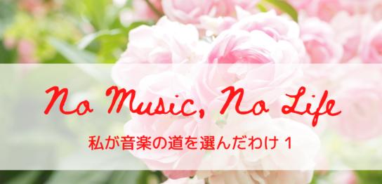 No Music, No LIfe 1